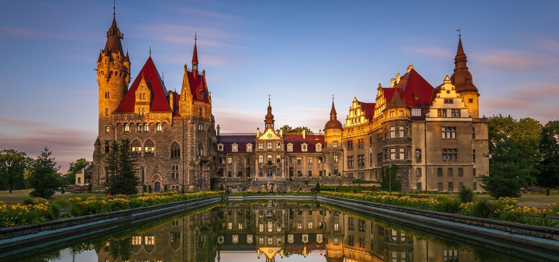 Moszna Castle 1920